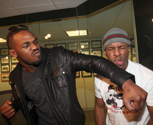 Jon Jones NYC radio appearance (Getty Images)