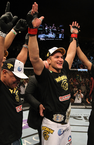 UFC heavyweight champion Junior dos Santos (Getty)