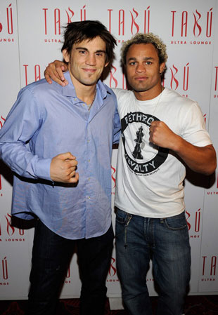 Fitch and Koscheck in Las Vegas in Aug. of 2010 (Getty)