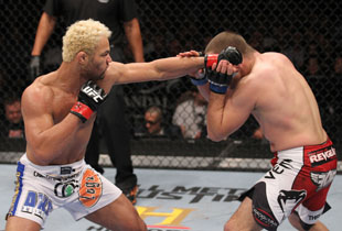 Koscheck's win (Getty)