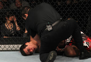 Lyoto Machida would really rather be coaching TUF. (Getty)