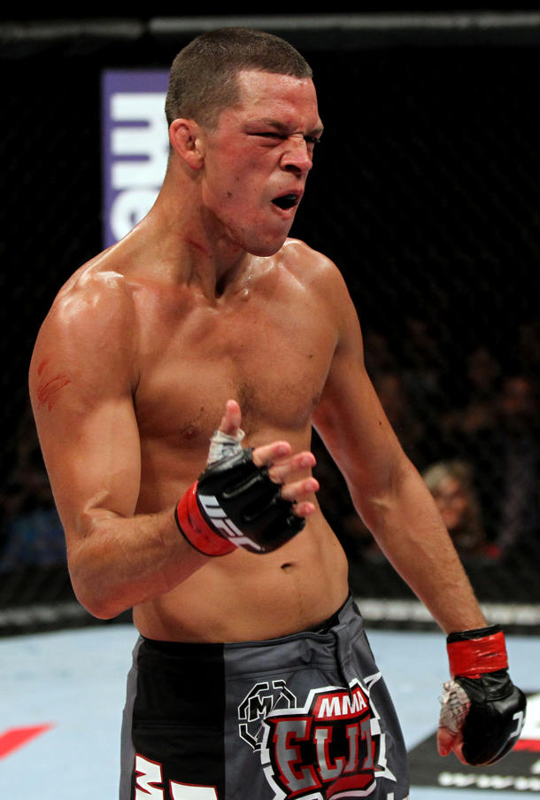 Nate Diaz has got next. (Getty)