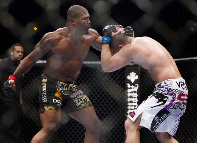 It's time for UFC fans to say goodbye to Quinton Jackson (Julie Jacobson/AP)
