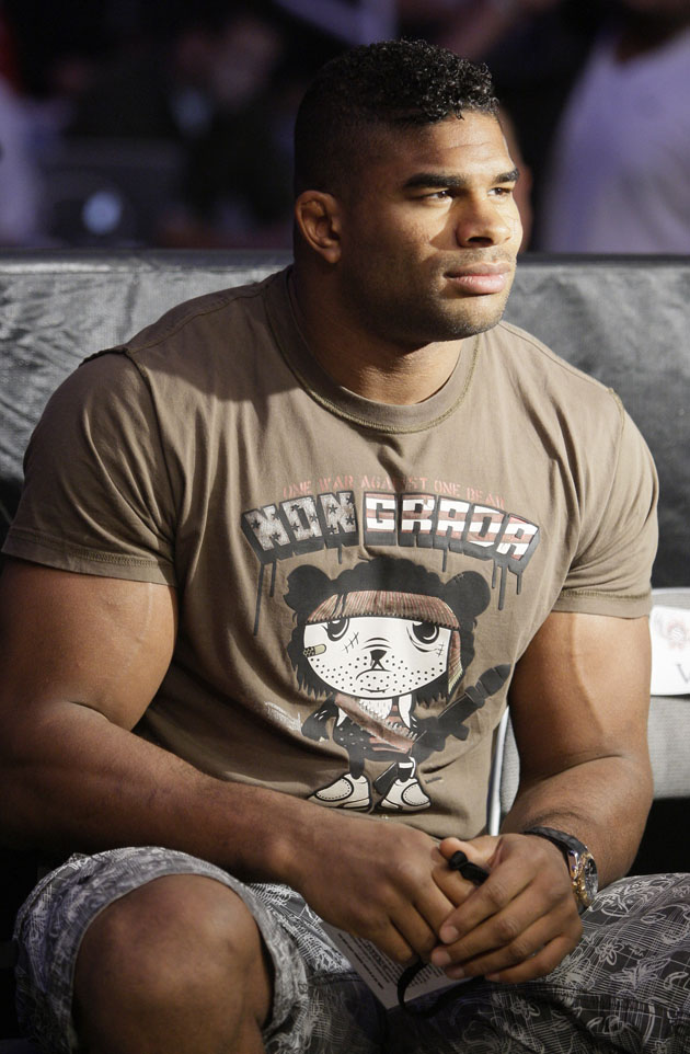 Alistair Overeem said medication caused a failed drug test on March 27 (AP)
