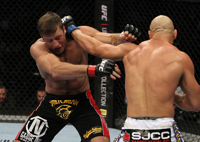 Stephan Bonnar defeated Kyle Kingsbury at UFC 139, his last bout (Getty Images)