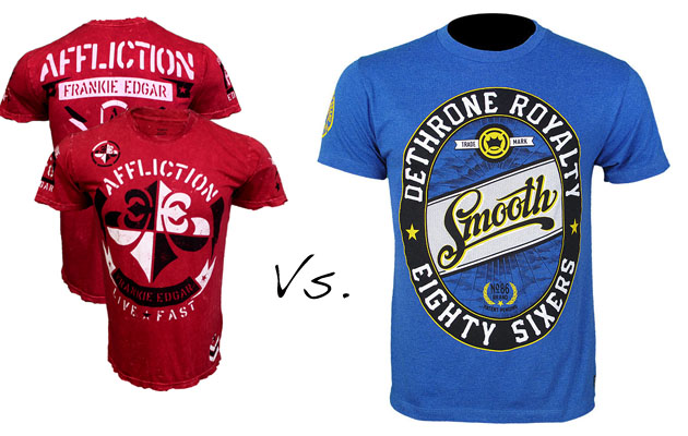 MMA Marketplace: Frankie Edgar's walkout shirt takes on Benson Henderson's