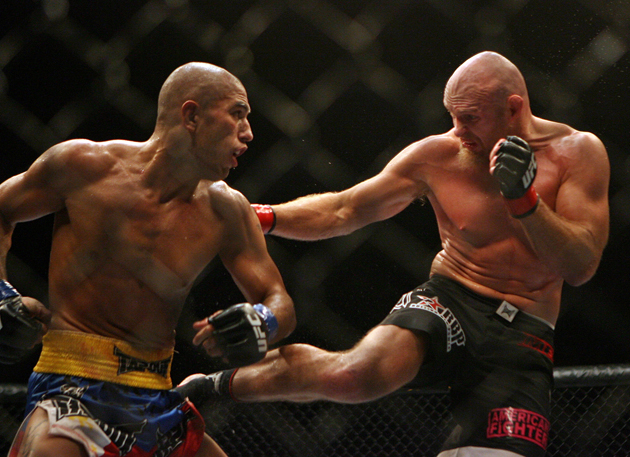 Brandon Vera (L) needs to look impressive Saturday to earn a title shot. (AP)
