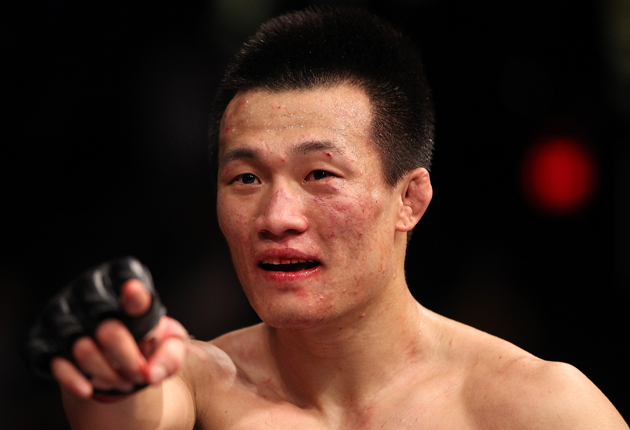 Y! Sports MMA columnist Kevin Iole picks 'The Korean Zombie' as the most exciting fighter in the UFC (Getty)