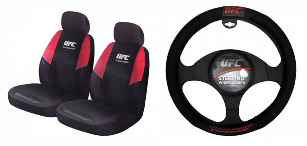 Ridiculous UFC gear for your car (UFC.com)