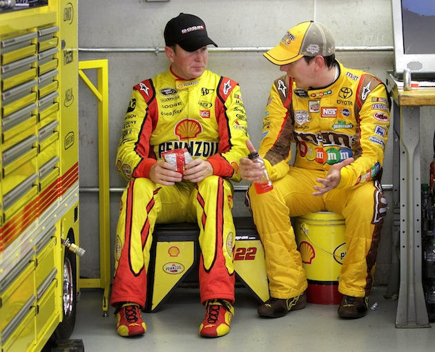 The Busch brothers will be Nationwide Series teammates in 2012 (Getty)
