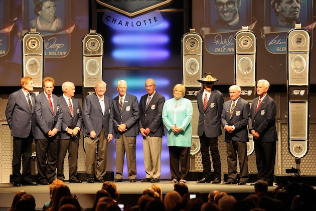 The 2012 NASCAR Hall of Fame Class was inducted Friday