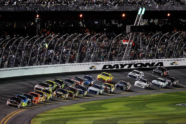On 500 weekend, the race may not be the craziest thing you see (Getty)
