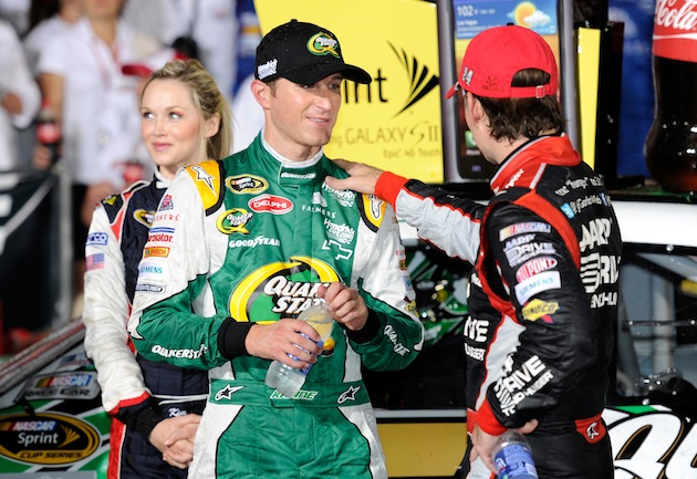 Will Kasey Kahne and Jeff Gordon each be celebrating Saturday night?
