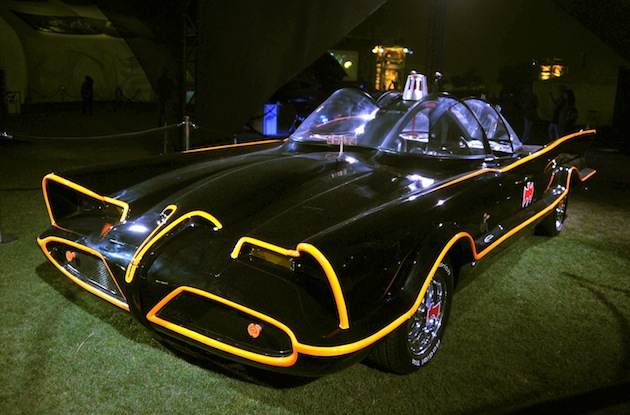 Yup, this is the original Batmobile. (Getty)