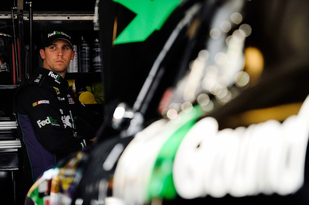 Denny Hamlin should be in title contention at Homestead. (Getty)