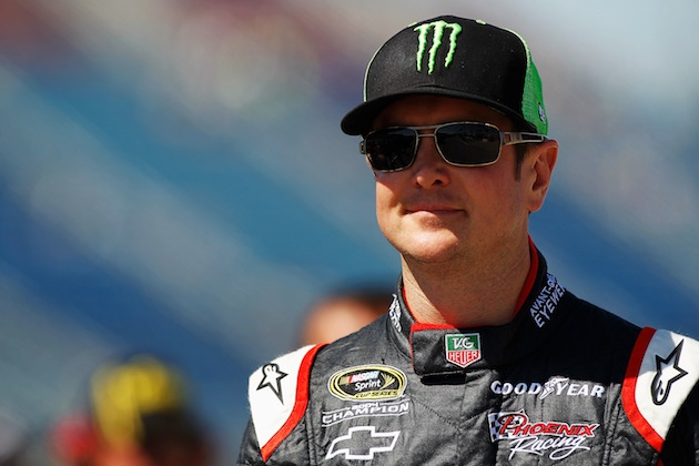 Kurt Busch will be going from Phoenix Racing to Furniture Row Racing in 2013. (Getty)