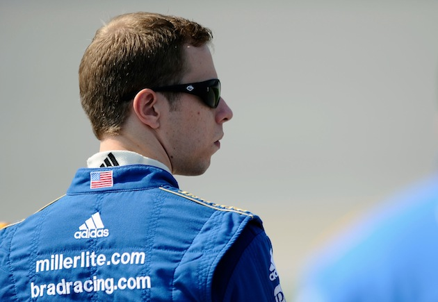 Brad Keselowski gained as many as 16 positions thanks to the last lap crash at Talladega. (Getty)