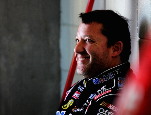 If NASCAR came to Eldora, Tony Stewart's grin would be too big for this picture. (Getty)