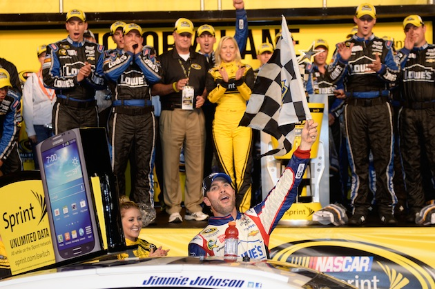 Jimmie Johnson has won more All-Star Races than any other driver. (Getty)