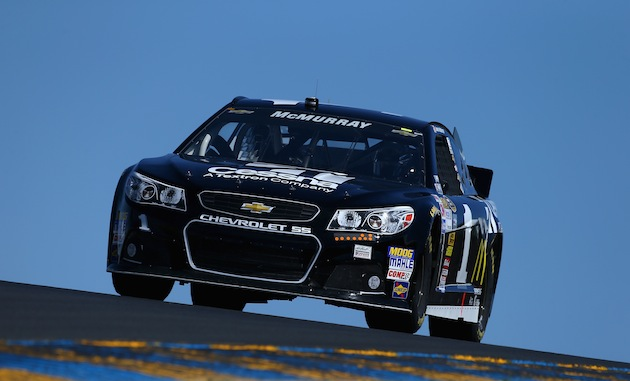 Faster than a jet plane. Jamie McMurray is on the pole at Sonoma. (Getty)