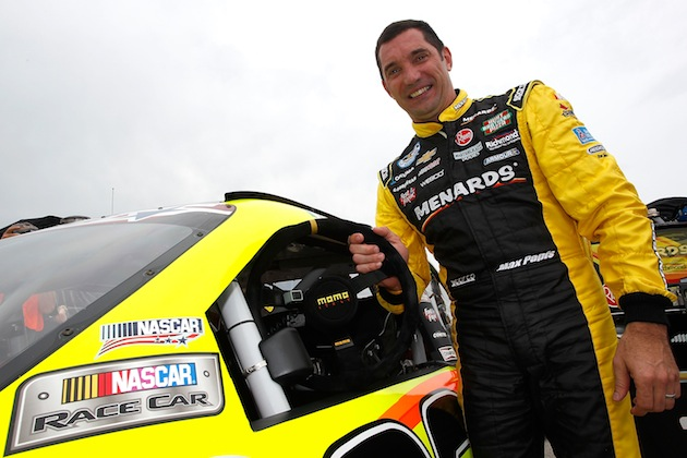 Max Papis, before the Nationwide race at Road America. (Getty)