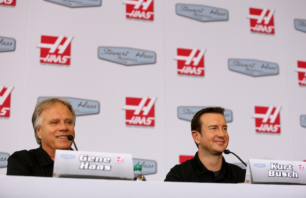 Gene Haas wanted Kurt Busch, and he went out and signed him. (Getty)