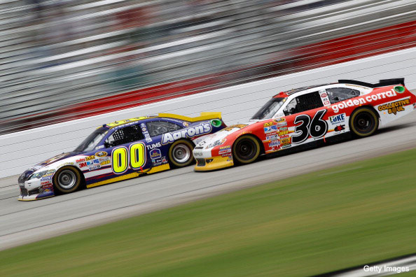 David Reutimann and Dave Blaney / Getty Images