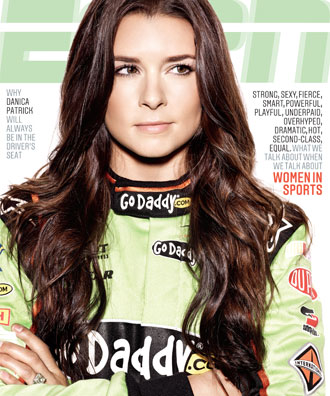 Danica Patrick is now the face of women in sports, according to ESPN