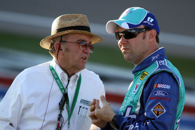 Jack Roush and Matt Kenseth in happier days. (Getty Images)