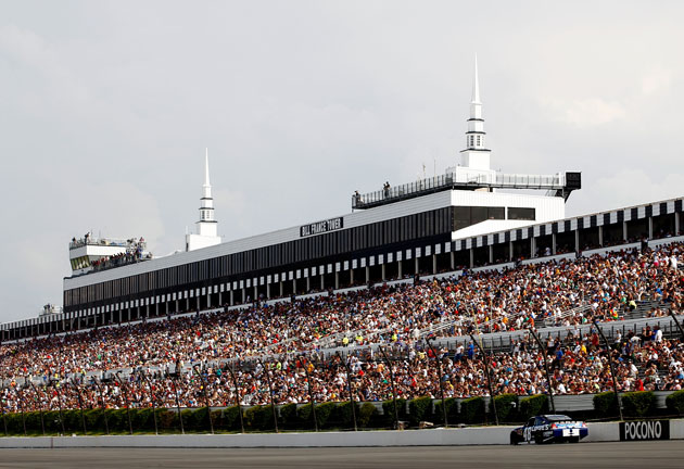 Pocono before the storm. (Getty Images)