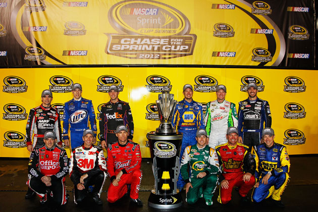 Your 2012 Chase contenders. (Getty Images)