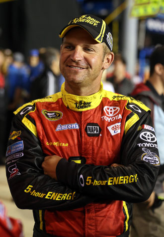 Chillin' Clint Bowyer. (Getty Images)