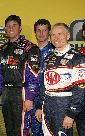 Denny and Mark. Also Kasey. (Getty Images)