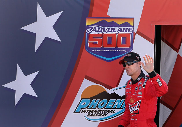 Your winner at Phoenix. Name of Harvick. (Getty Images)