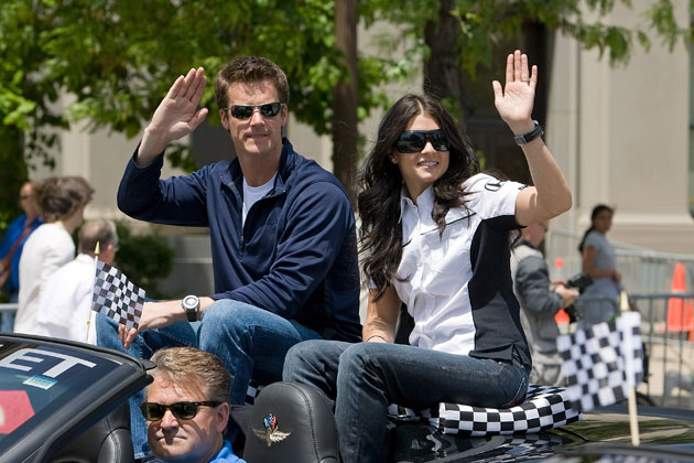 Paul Hospenthal and Danica Patrick. (Getty Images)