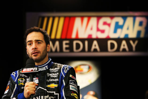 Jimmie Johnson. (Getty Images)