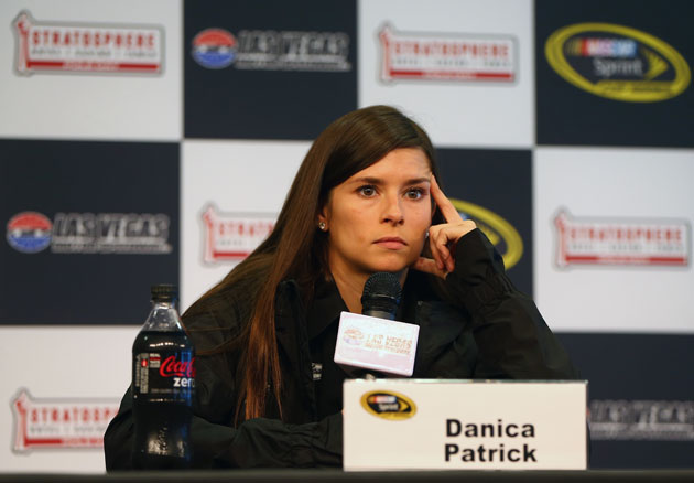 Danica Patrick talks about the rock that got her. (Getty Images)
