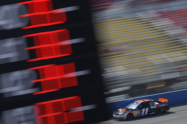 Denny Hamlin, rollin. (Getty Images)