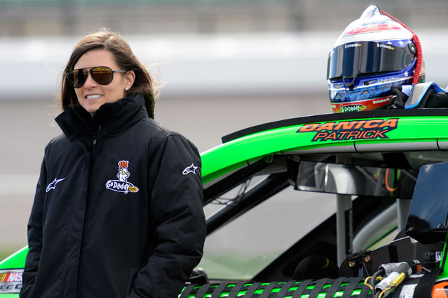 Danica Patrick. (Getty Images)