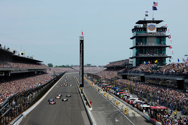 The Indy 500. (Getty Images)