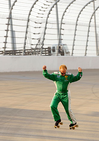 Yes, this is Morgan Shepherd from 2008. (Getty Images)