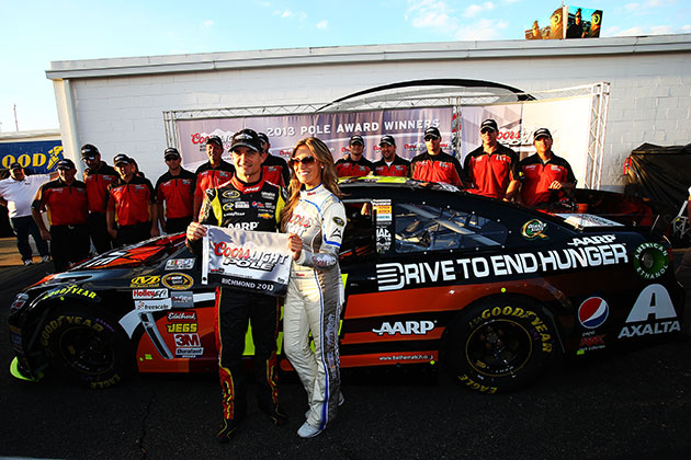 Jeff Gordon wins the pole. (Getty Images)