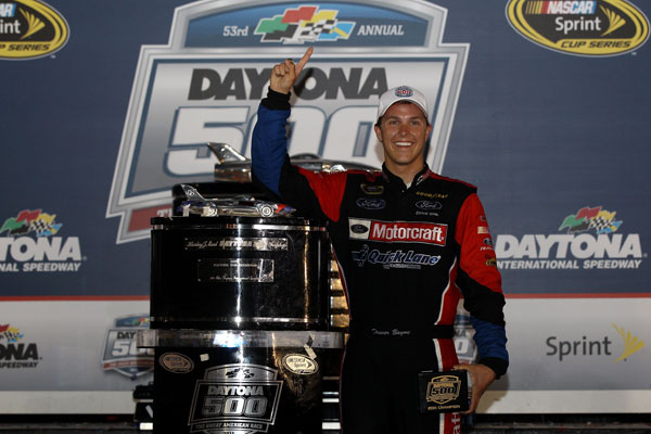 Daytona 500 winner Trevor Bayne / Getty Images