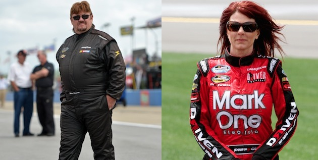 Mike Harmon and Jennifer Jo Cobb. (Getty)