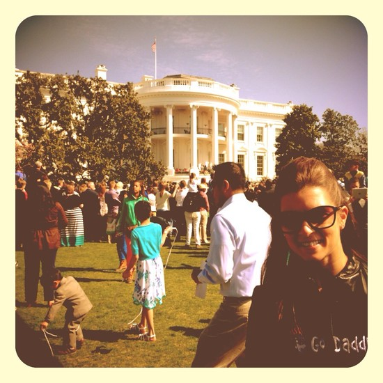 Danica at the White House (@DanicaPatrick)