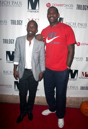 Rich Paul and LeBron James (John Parra/ WireImage)