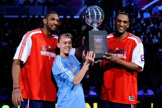 Can Team Atlanta capture the Shooting Stars crown yet again? (Kevork Djansezian/ Getty)