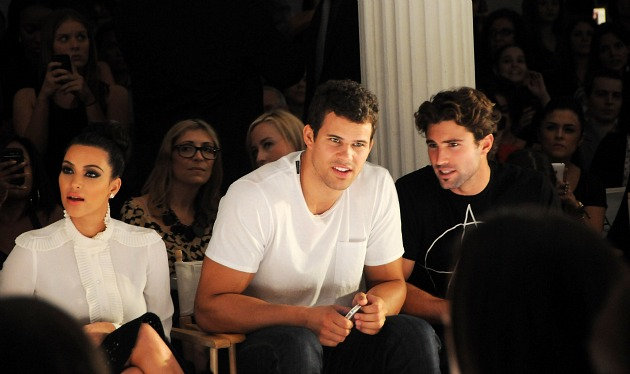 Kris Humphries really hit it off with former step-brother-in-law Brody Jenner (Desiree Navarro/ Getty).