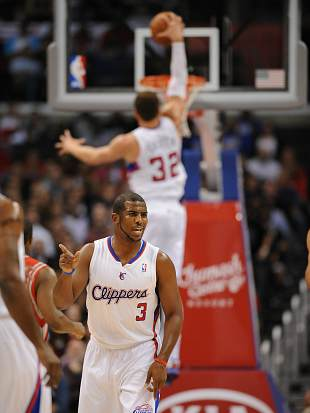 Chris Paul and Blake Griffin (Getty Images/Noah Graham)