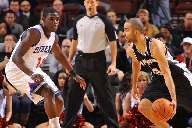 Jrue Holiday and Tony Parker are among the All-Star Saturday participants (David Dow/ Getty).